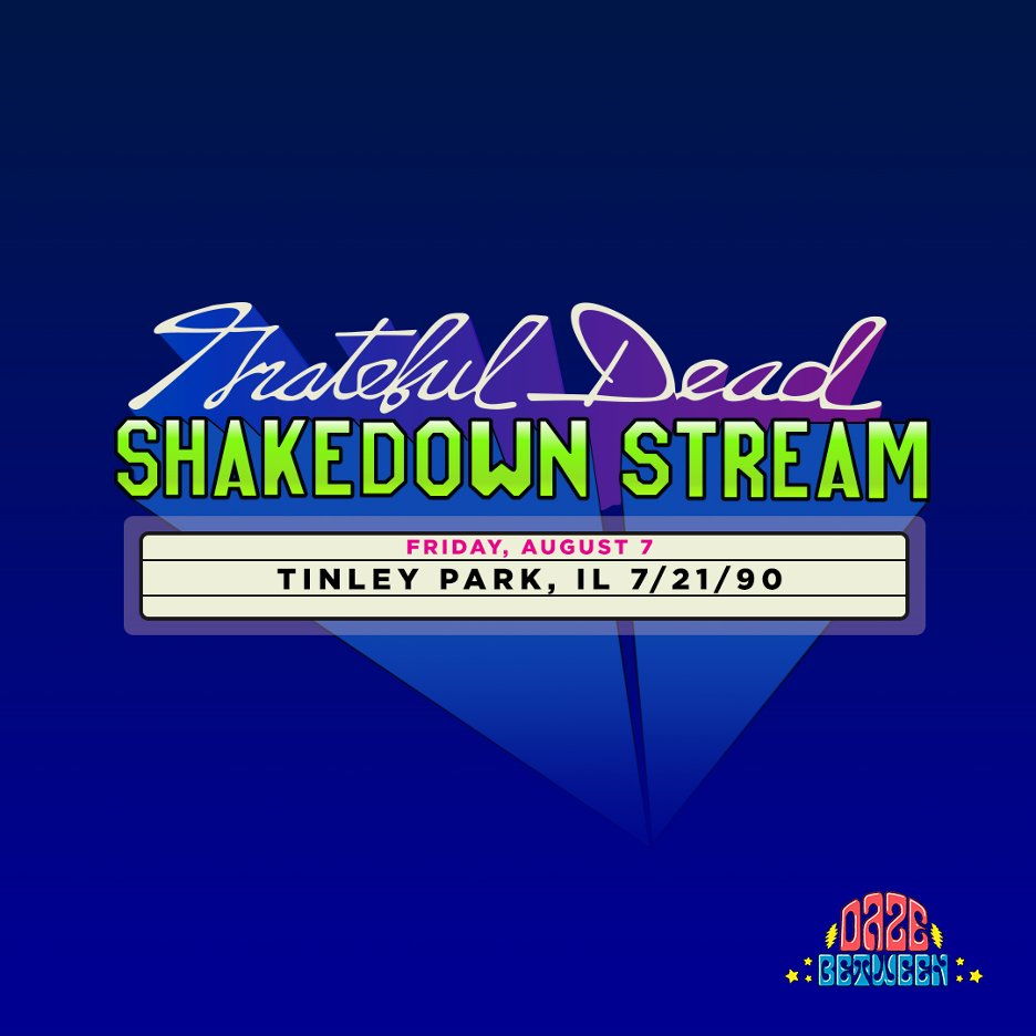 @BobWeir will be back hanging out with David & Gary for tonights SHAKEDOWN STREAM PRE-SHOW closing ceremonies. Got questions? Submit them here: bit.ly/2Rp0od3 On the SHAKEDOWN STREAM, weve got a previously unreleased show: Tinley Park, IL 7/21/90. #GratefulDead