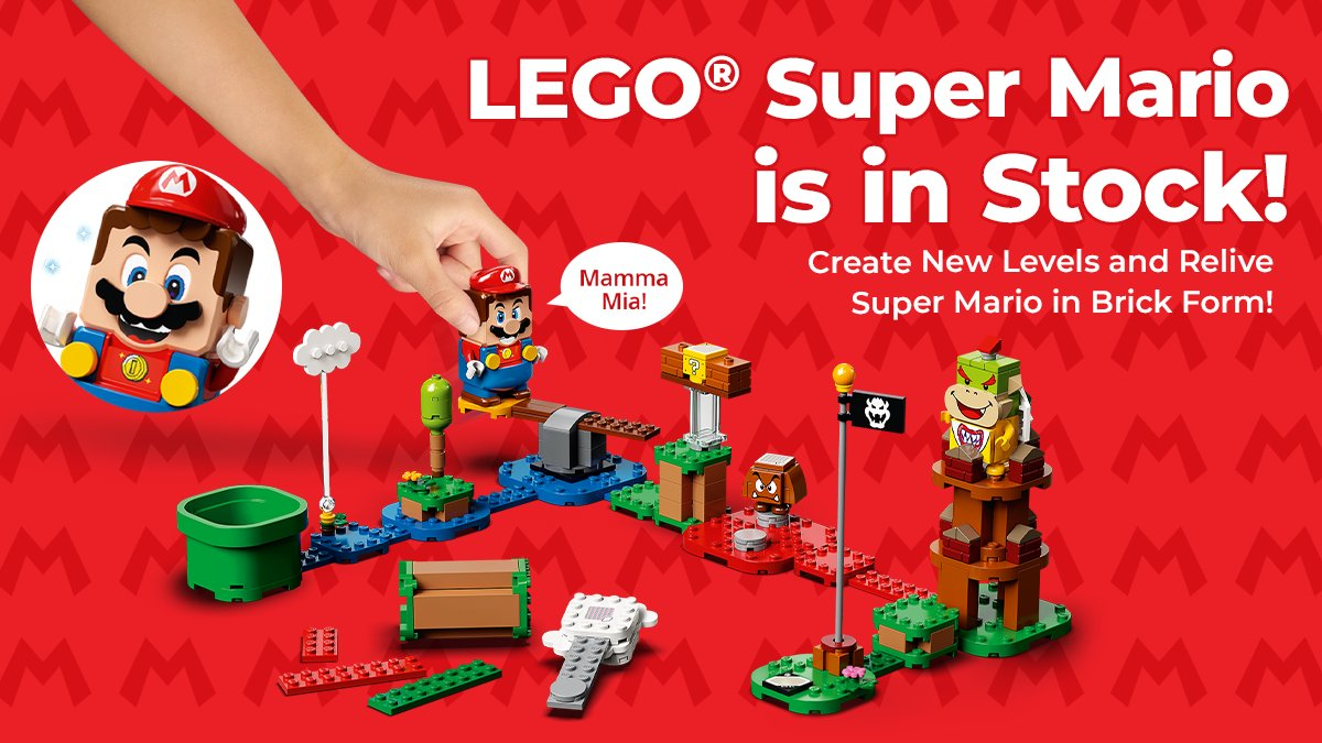 Kids can team up with their favorite character in the real world with this LEGO® Super Mario™ Adventures with Mario Starter Course (71360). #Lego #Mario #JrToyCompany #SuperMarioLego https://t.co/uKC0t5vi82 https://t.co/ke9JSbTNxr