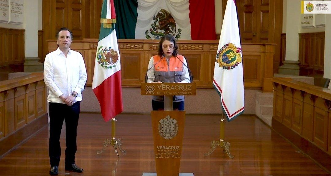 Reducción de movilidad contra coronavirus en Veracruz coordinado con la Policía Estatal y Protección Civil