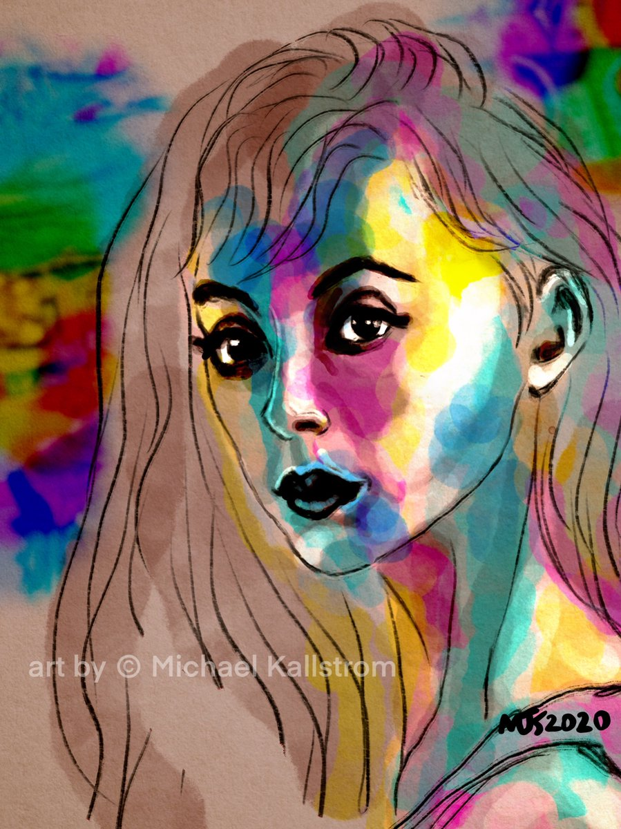 Afternoon Work  Some of my work is available on https://michael-kallstrom.pixels.com   #thedailysketch #drawing #artgallery #painting #art #artist #Procreate #digitalart #portrait #creative #inspiration #artoftheday #portrait #portraitpainting pic.twitter.com/rkPyRSZ1RG
