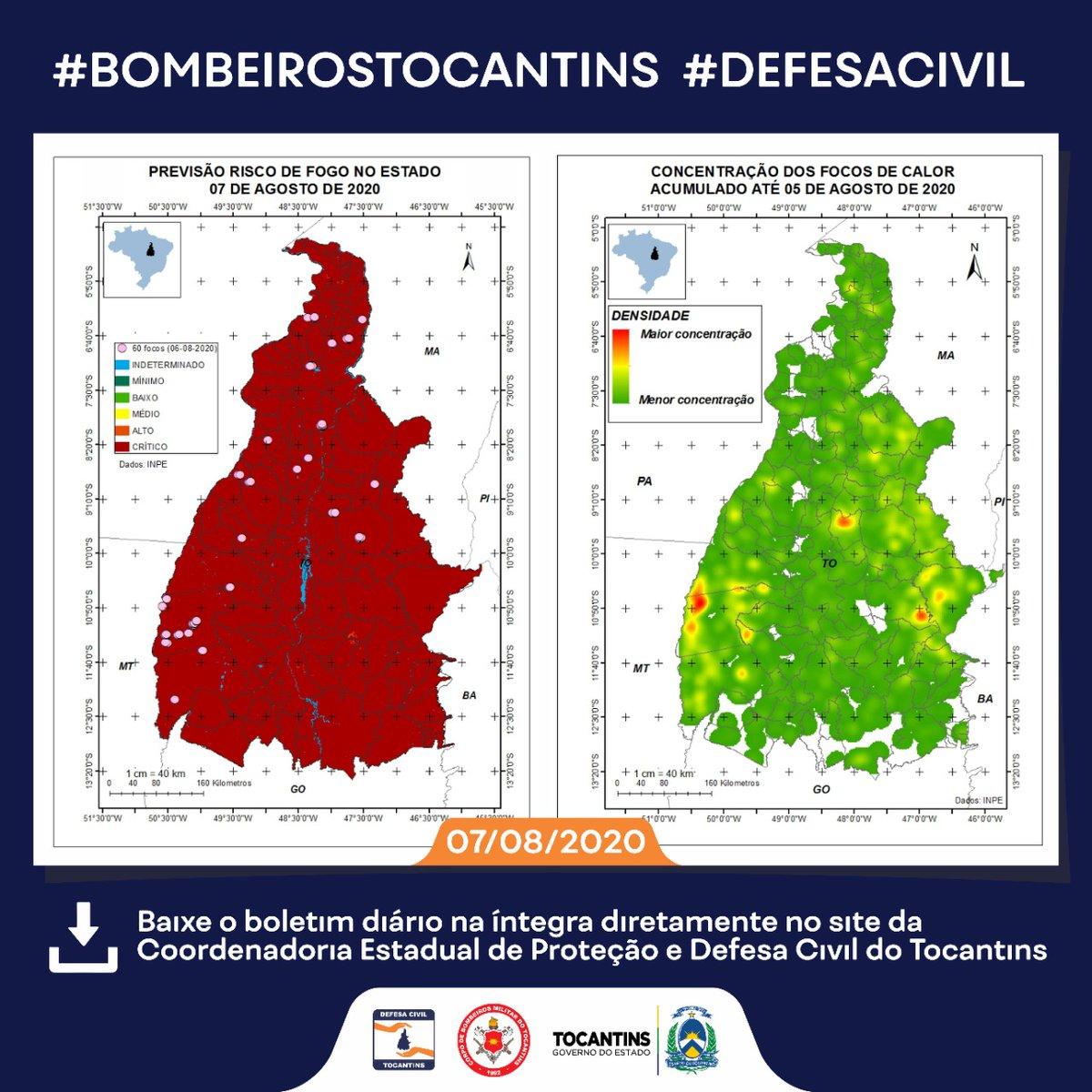 Baixe o boletim diário na íntegra diretamente no site da  Coordenadoria Estadual de Proteção e Defesa Civil do Tocantins:  https://t.co/EKSZyGuAu2  #defesacivil #boletim #protecao #combate #tocantins https://t.co/dLHUkubJTx