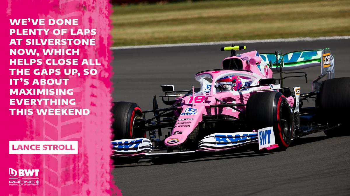 Plenty more track time has @lance_stroll looking forward ⏩  #F1 #F170 https://t.co/wk9FTyWjI8