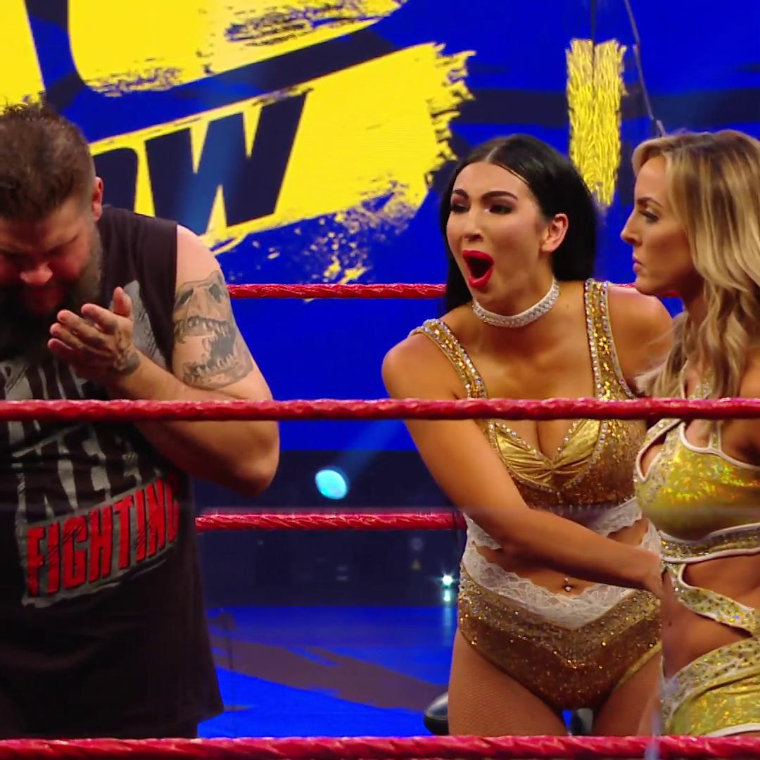 Keep an 👁️ on @BillieKayWWE. #WWERaw