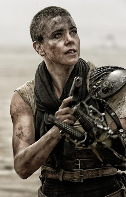 You wanna get through this? Do as I say. Happy birthday to our Imperator Furiosa, Charlize Theron!