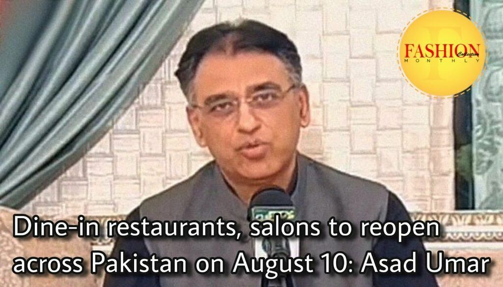 Planning and Development Minister Asad Umar said Thursday dine-in restaurants and beauty salons would reopen across Pakistan on August 10 as the efforts against the coronavirus pandemic seem to bear fruit. . #Fcmag #lockdown #government #August #2020 #Ha… https://t.co/ZITvkEdPgx https://t.co/Qn3XTyeWJh