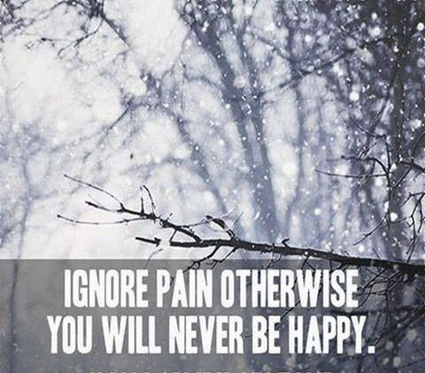 ignore pain otherwise you will never be happy *Imam Ali* #LiveLikeAlipic.twitter.com/Jda9d91rfM