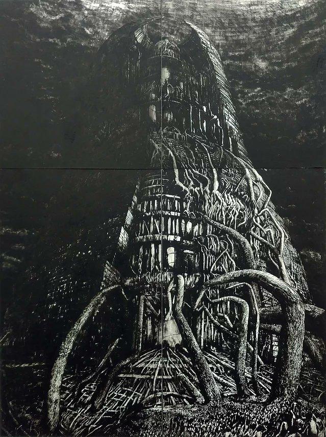 RT @StendhalNara Gravures de l'artiste japonais, Hiroya Yasukochi.  (@Hroya_yaskochi)