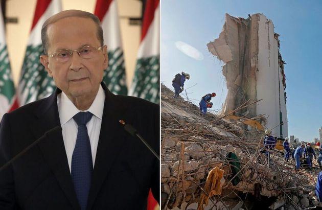 Il Presidente Libanese interviene sulle esplosioni che hanno devastato #Beirut e non esclude la possibilità che sia stata un'aggressione esterna. Ancora decine i dispersi e cresce la tensione nella popolazione   Al #Tg2Rai delle 20.30 del #7agosto https://t.co/kgQoCvEwsg