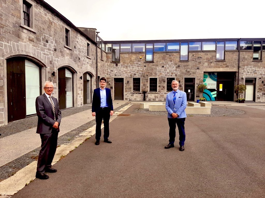.@sportireland welcomed the Minister of State for Sport & the Gaeltacht Jack Chambers to @SportIreCampus today.  We look forward to working with @jackfchambers and wish him the very best in his role.  #InThisTogetherpic.twitter.com/U2IIXWZhKv