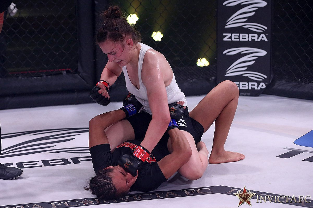 """""""I did want the finish but she was super tough and I was a little hesitant in my response and that's why I couldn't finish."""" - @blanchfield_mma  #InvictaFC41  Watch the full post-fight interview here: https://t.co/bdArnd2ZOG https://t.co/1zUpmWZSvp"""