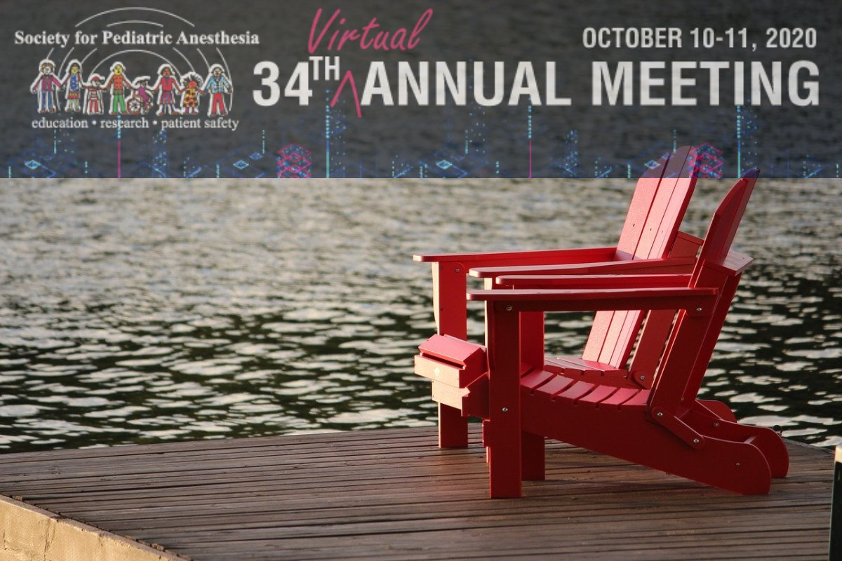 While you're enjoying your weekend do another thing that's going to make you feel good; register for SPA's 34th Annual Meeting. Sure it's virtual but will be no less informative and collegial. We think you'll like what you see. https://www2.pedsanesthesia.org/forms/registration/2020annual_register.iphtml … #PedsAnes #PedsPain #PedsICU pic.twitter.com/mOoIigGMXk