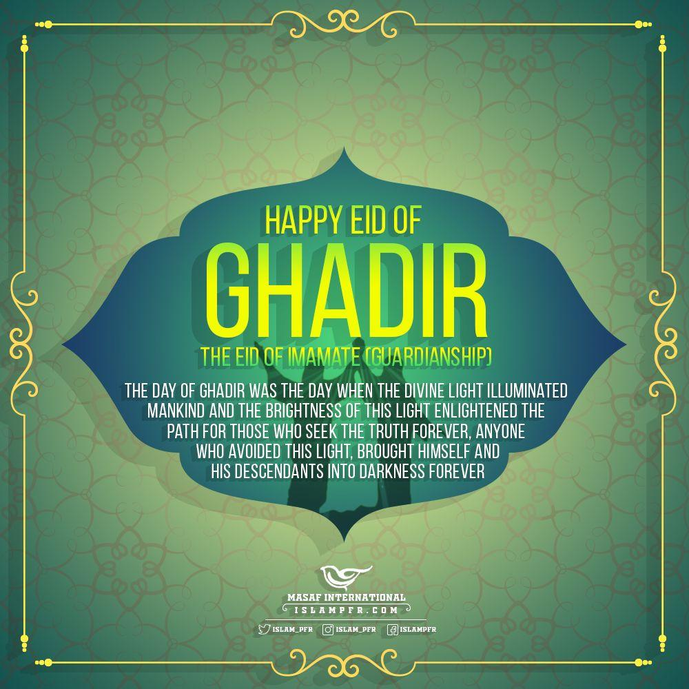The day of Ghadir was the day when the Divine light illuminated mankind and the brightness of this light enlightened the path for those who seek the truth forever, anyone who avoided this light, brought himself and his descendants into darkness forever. #LiveLikeAlipic.twitter.com/tZ0EyVV4oS