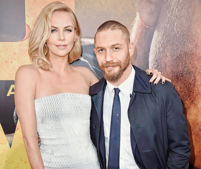 Charlize Theron & Tom Hardy  Happy Birthday, beautiful Charlize