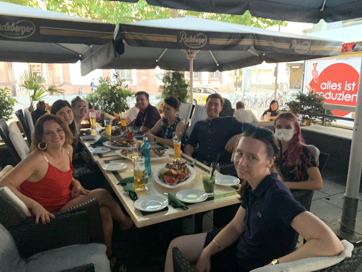 Always good to say 'yes' when you're starting a new job. Delicious meal at Buena Vista in #Frankfurt with other incoming #teachers. Great meal and lots of laughs after a long week. #teambuildingpic.twitter.com/oR7WEiE8JE – at Buena Vista