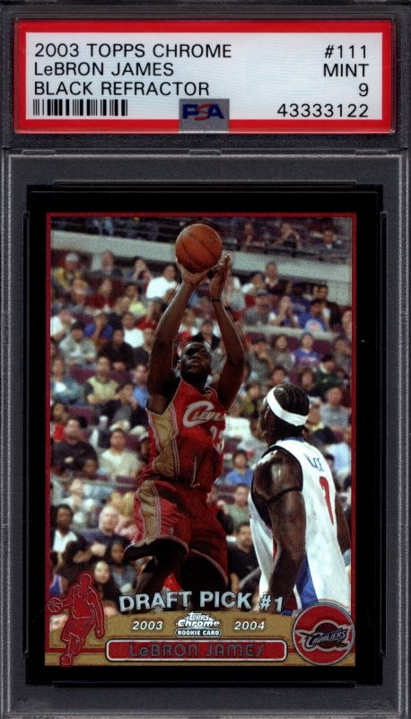 🚨 Buyer's Market Giveaway 🚨  TO ENTER:  1⃣- RT this tweet 2⃣- Follow @ActionNetworkHQ  Winner receives card in @vintage_breaks 2003 Topps Set (worth ~$450).  If LeBron is selected, Vintage Breaks will offer $40K for it on the spot.  Winner announced Sunday night at 9p ET!