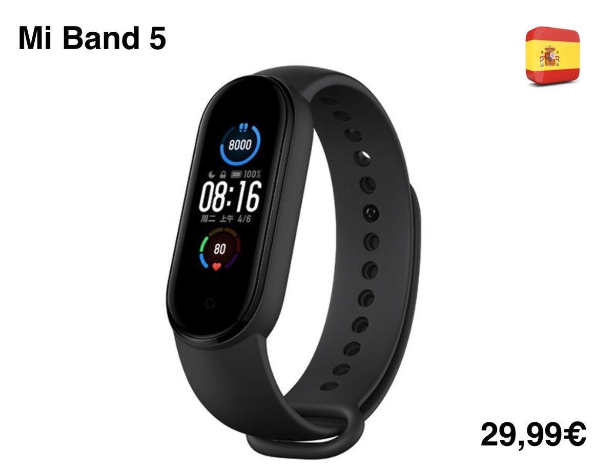 Xiaomi Mi Band 5 Smart Pulseira a cores com carregamento magnético 11 Modelo desportivo Câmara remota Bluetooth 5.0 Aliexpress:http://s.click.aliexpress.com/e/_dSwQi00 #xiaomi #miband #gearbest #novidade #ttechbpic.twitter.com/OQZGEuGtIS