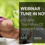 We're live with Montel and Agritecture! Tune in to our webinar to learn about the rising impact of vertical farming - https://t.co/LKf8kd4OVX   #NaturallyBrilliant #LEDlights #LEDlighting #growlights #cannabiscommunity #growyourown #urbanfarming #verticalfarming