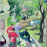 Image for the Tweet beginning: A London Evening 1933 #MaryAdshead