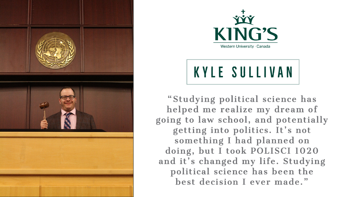 Why take #PoliSci @kingsatwestern  ? Check out Day 8 of #21DaysofPSTestimonials #ExperientialLearning #Resilience #Leadership #Advocacy #Research @KingsPoliSciClbpic.twitter.com/F7fHVb2Ltu