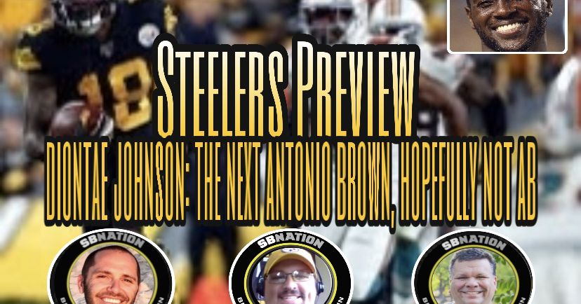 Podcast: Diontae Johnson could be the next Antonio Brown, but hopefully not another AB https://t.co/FwEwaoFqqT https://t.co/F4dEN7HOsd