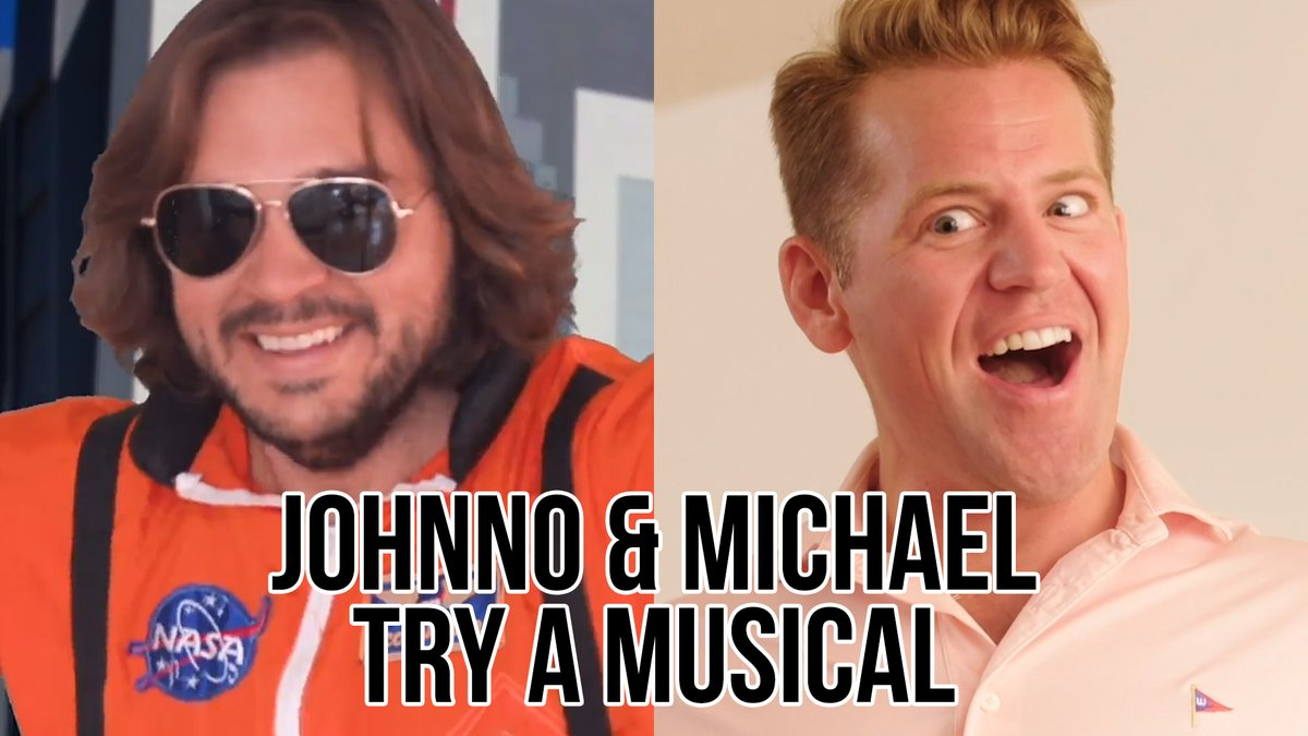 Johnno and Michael Try a musical... because it may be the only thing that'll get Michael out of his down-in-the-dumps funk. @Johnno_Wilson