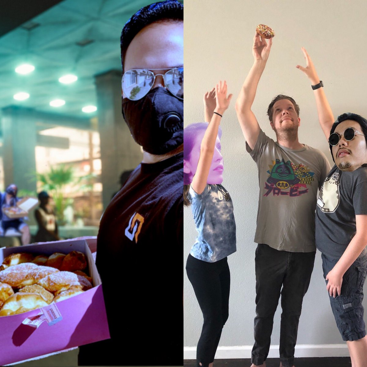 Latest DonutDay winners and Photoshop attacks! Congrats Dean, Mal and Robert!pic.twitter.com/XJHCO49mwg