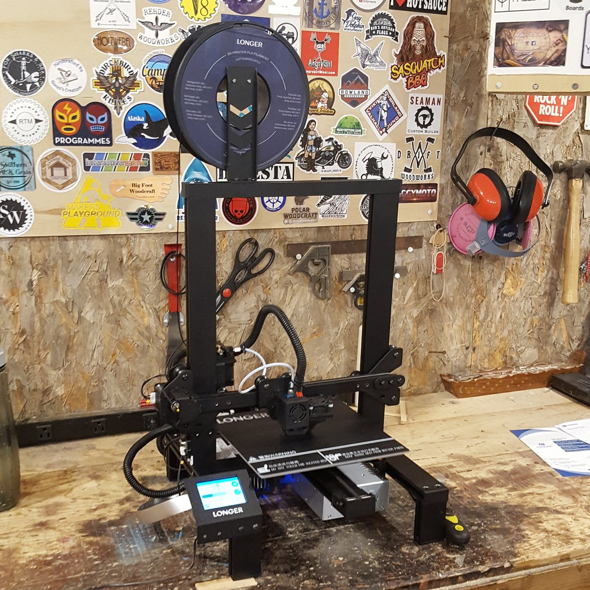 #ArtisanPirate #artisan #pirate #maker #mentor #artist #woodworker #entrepreneur #follow #craftsman #stickerswap #3d #3dprinting #3dprint #longer3dprinter #technology #techno #techie #futuristic #diy #handmade #print #printer #stepup #learn #teach #GodBless #GodIsGood #Blessedpic.twitter.com/4wwoPMxNTl