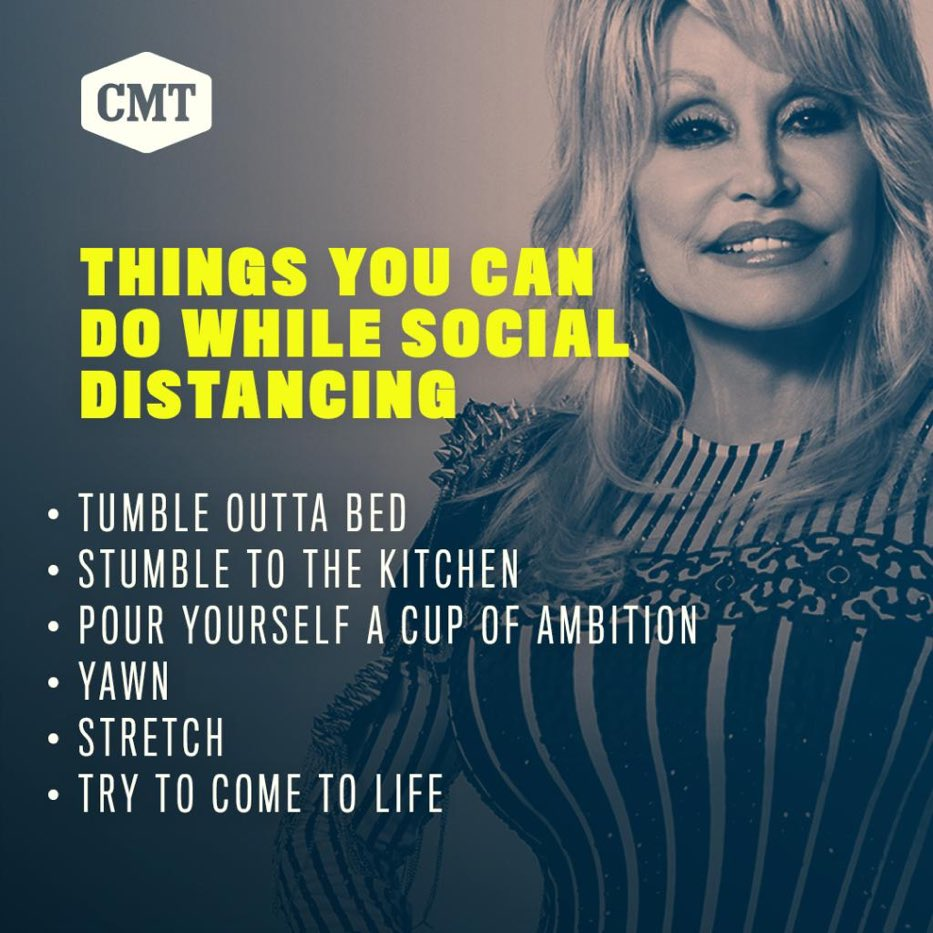 PSA from the queen herself, @DollyParton 💁♀️