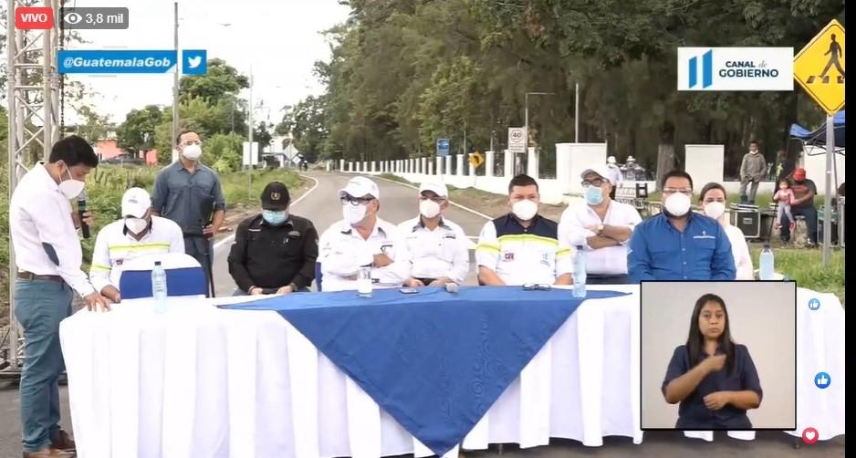 test Twitter Media - Presidente Alejandro Giammattei supervisa la reposición asfáltica de la Calzada Justo Rufino Barrios y Calzada al Puente Chipilapa, Jalapa. https://t.co/ruUMdLmkg9