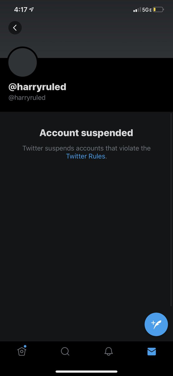 IM SUSPENDED @harryruled PLS RT TO FIND MY MOOTS 😭😭😭