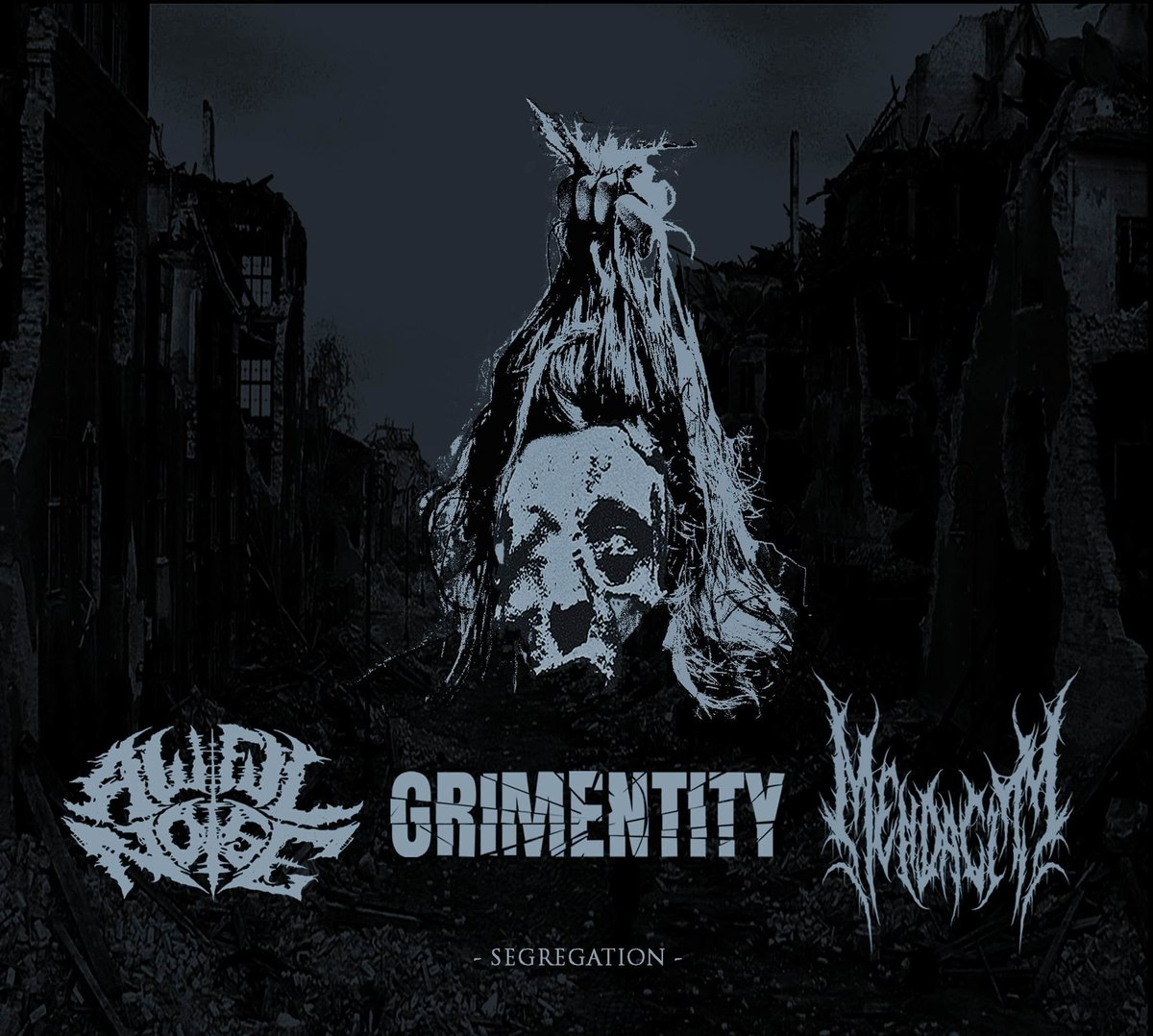 Our covid 19 split has been unveiled! AN with Mendacity(Canada) and Grimentity(Belarus). Coming out on CD and tape through Immaculate Defecation and Grindhead Records #grindcore #brutaldeathmetal #deathgrind #slam #powerviolencepic.twitter.com/8ecCPr13Jr