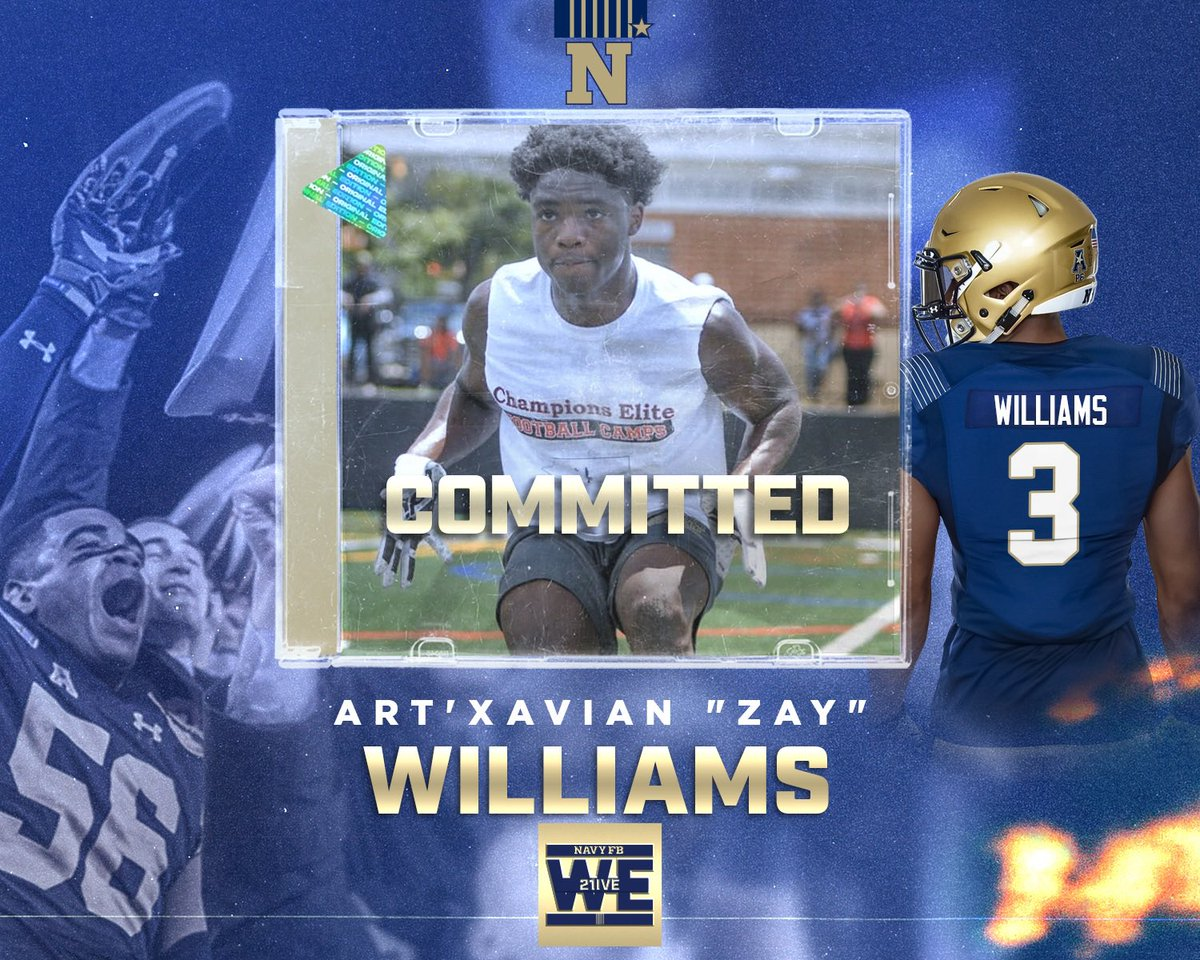 COMMITTED✍🏽‼️ @NavyFB #We21ive #GoNavy