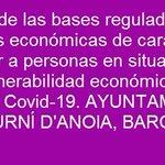 Image for the Tweet beginning: #España #Cataluña #prestaciones #personas #vulnerabilidad