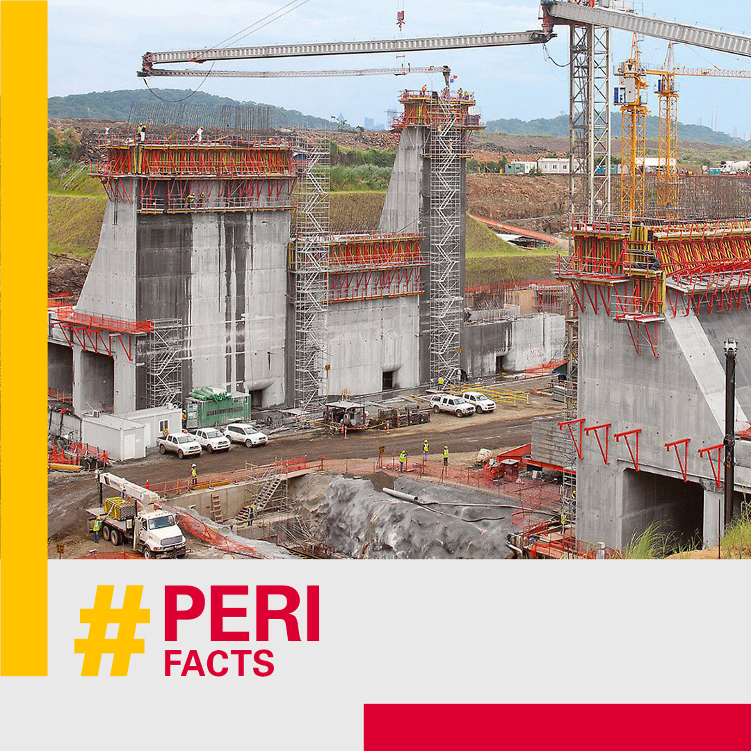 Another week — another #PERIfact Did you know that the amount of #concrete used to build the #PanamaCanal was 6,600,000 m³?  https://bit.ly/3fKwHwspic.twitter.com/G3WTXRFgOJ