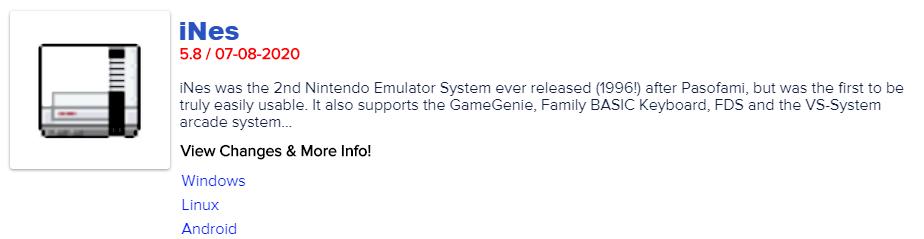 iNes 5.8 released! Available at http://EmuNations.com#emulator #emulation #emulators #gamers #retrogame #retrogames #retrogamer #retrogamers #retrogaming #iNespic.twitter.com/lRBSUnD81W
