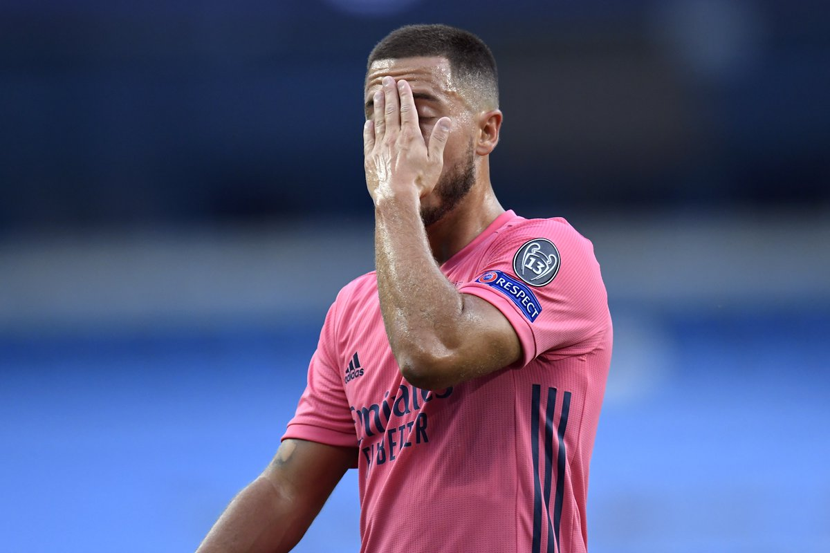 Eden Hazard failed to complete a single take-on against Man City (0/2) and was successfully dribbled past twice by Man City players. Unable to deliver on the big stage tonight.