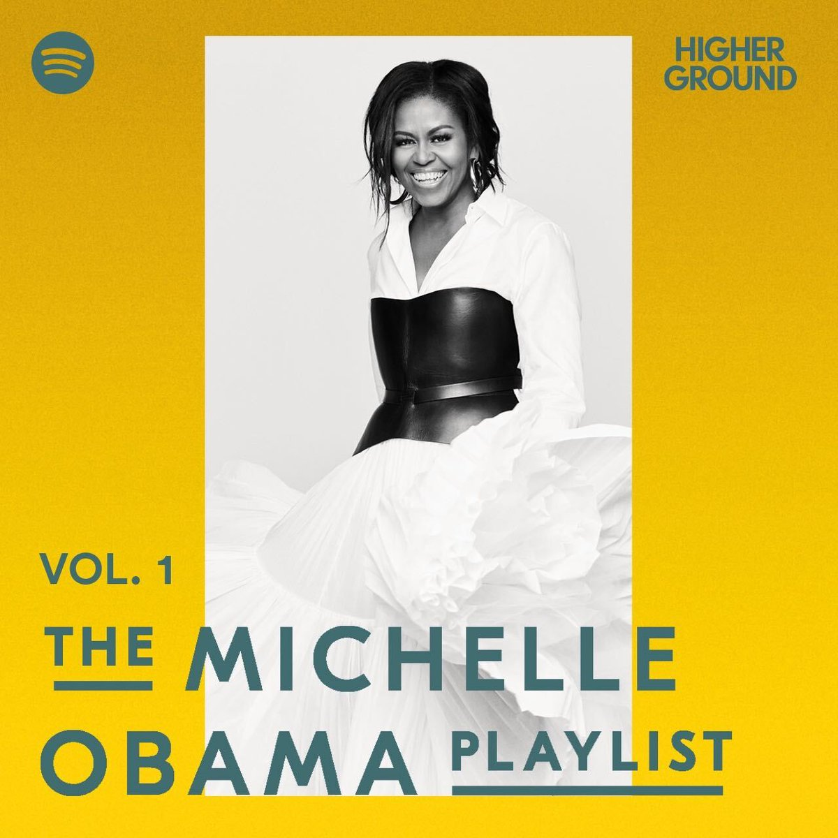 Excited to share with you a new @Spotify playlist inspired by the first season of my new podcast. Its filled with incredible new artists and a whole lot of #BlackGirlMagic. I hope youll give it a listen. #MichelleObamaPodcast spoti.fi/TheMichelleOba…