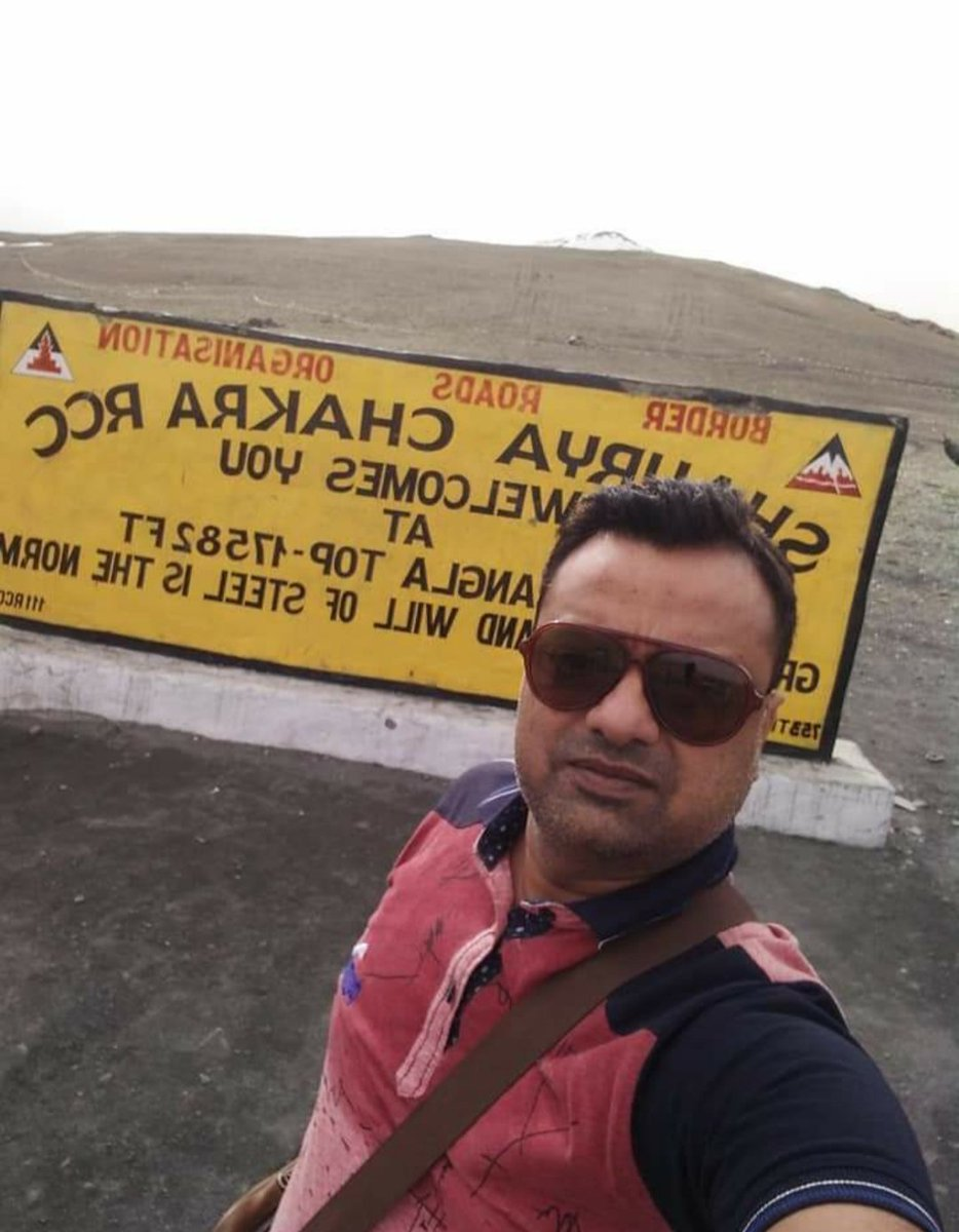 Welcome To Tanglang La Pass One Of The Highest Motorable Road In The World @ Height Of 17582 Feet Explore Incredible India With Amit Vaish The Explorer pic.twitter.com/QsEqbgAl6x