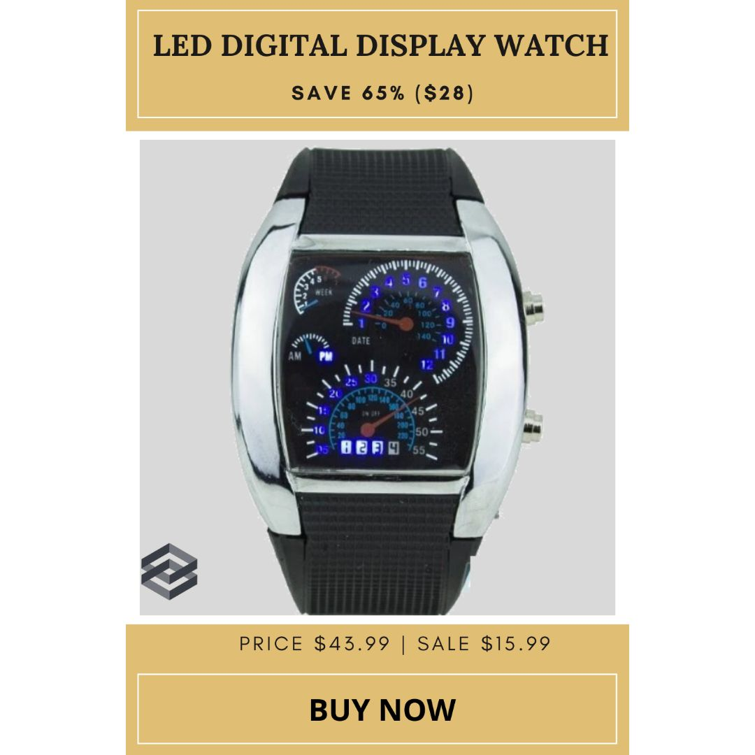 Luxury Sports LED Digital Display Watch What are you waiting for Benefits: ✓Fast Free Shipping ✓Free Returns ✓Full Refund Back Guarantee Buy Now: http://ow.ly/7kro50ASHlO  #boyswatch #sparklingsales #watchtrends #digitalwatch #watches #girlswatchpic.twitter.com/GNDEU6mF5o