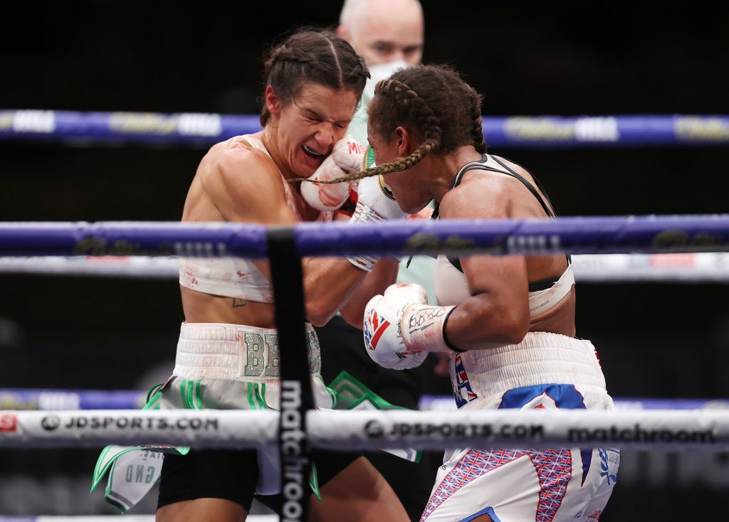 @TashaJonas been hard done for by me there. What a fight though, gave it her all and showed her class. A winner either way for me though #whatafight #missgb #teamrdx #rdxfamily @JoeG https://t.co/zO8MfPphIn