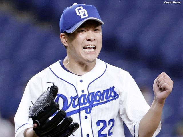 おはようございます🌞中日のエース大野雄大が投打にチームを勝利に導いてくれました😀2回2アウト1、2塁から大野雄大がセンターへの先制タイムリーヒット〜これがなかったら京田の3塁打も大島の3塁打も4点のビッグイニングもなかった😀投げては2試合連続の完投〜予想もしない勝利に笑いがとまらない😀
