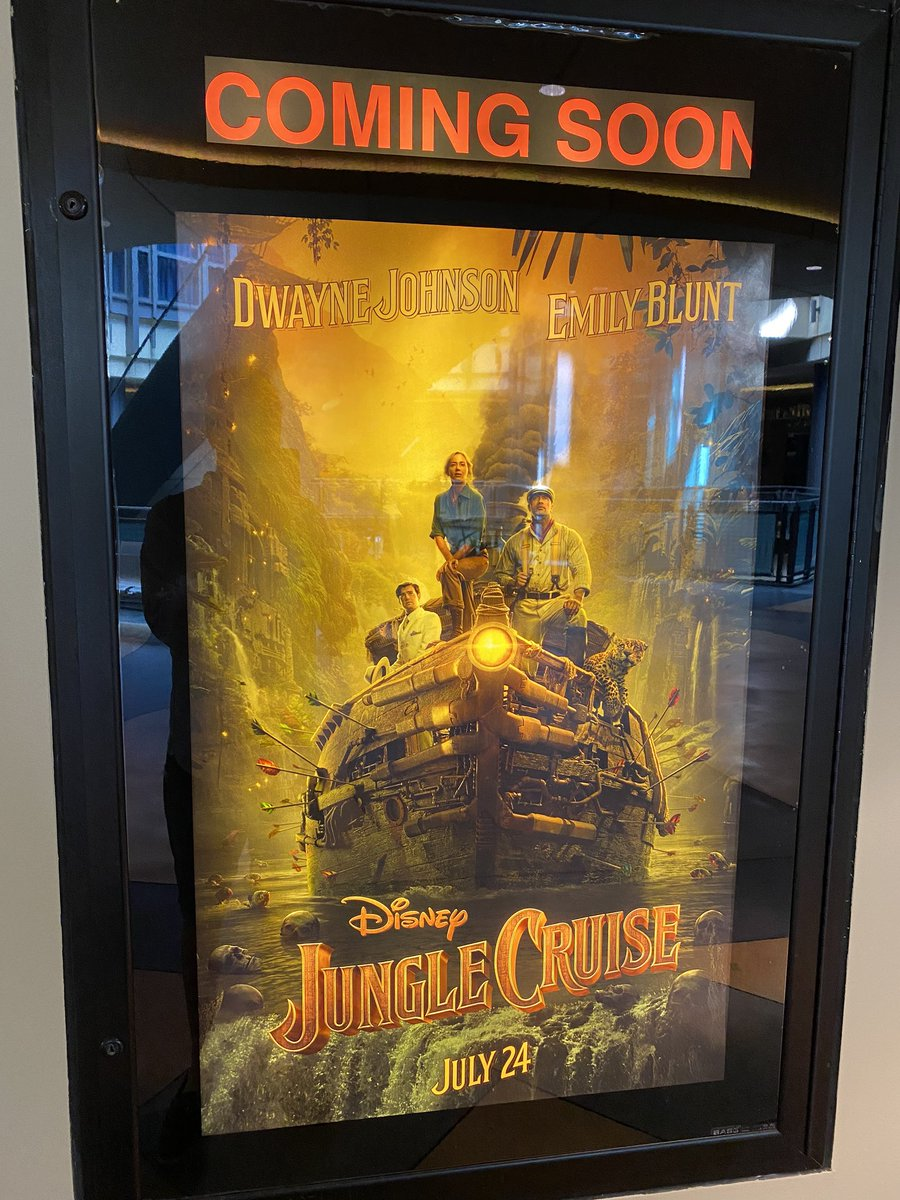 returning stuff to the dsw with my wife and saw these movie posters. I miss summer movies. In another world we would have seen these films multiple times now. #TopGun #junglecruise pic.twitter.com/gvZophnxpu