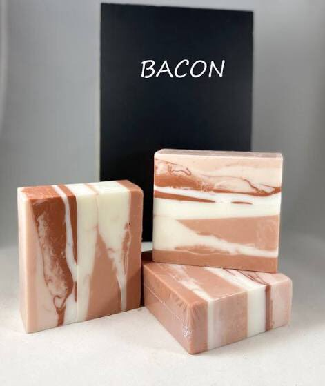 Want to smell like bacon. Soap.