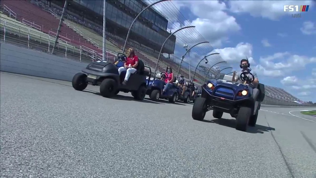 If you missed it, or want the refresher... we did this demonstration for the pre-race