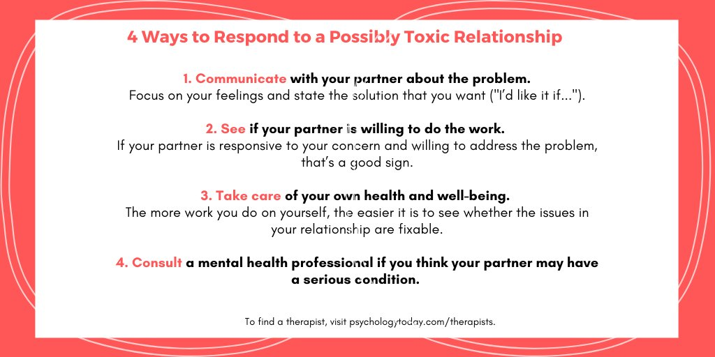 Is your relationship disintegrating? Here's how to tell whether it can be salvaged, or if it's time to walk away. https://t.co/rr6lwRDJsm https://t.co/vLmzGhGF41