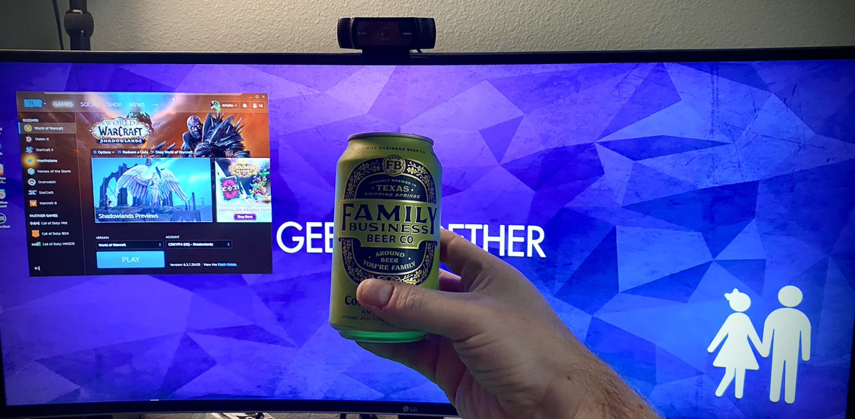 @CSSully Friday is finally getting started here! #ThatFridayFeeling @TheFamilyBeer @Warcraft