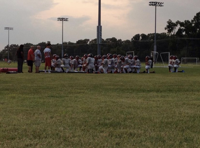 6 Years ago today I had my first football practice. The Vineland Blitz Football Team taught me everything I needed to know before highschool. I am very thankful to all the coaches,staff,players, and friends I have made along the way. @VinelandBlitz @VinelandFB #footballislife pic.twitter.com/OklCjxpdtg