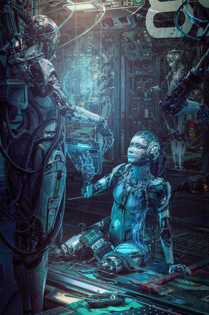 Michael Black #sciencefiction #FantasyAdventure #steampunk #Futurism #cyborgs #Robotics