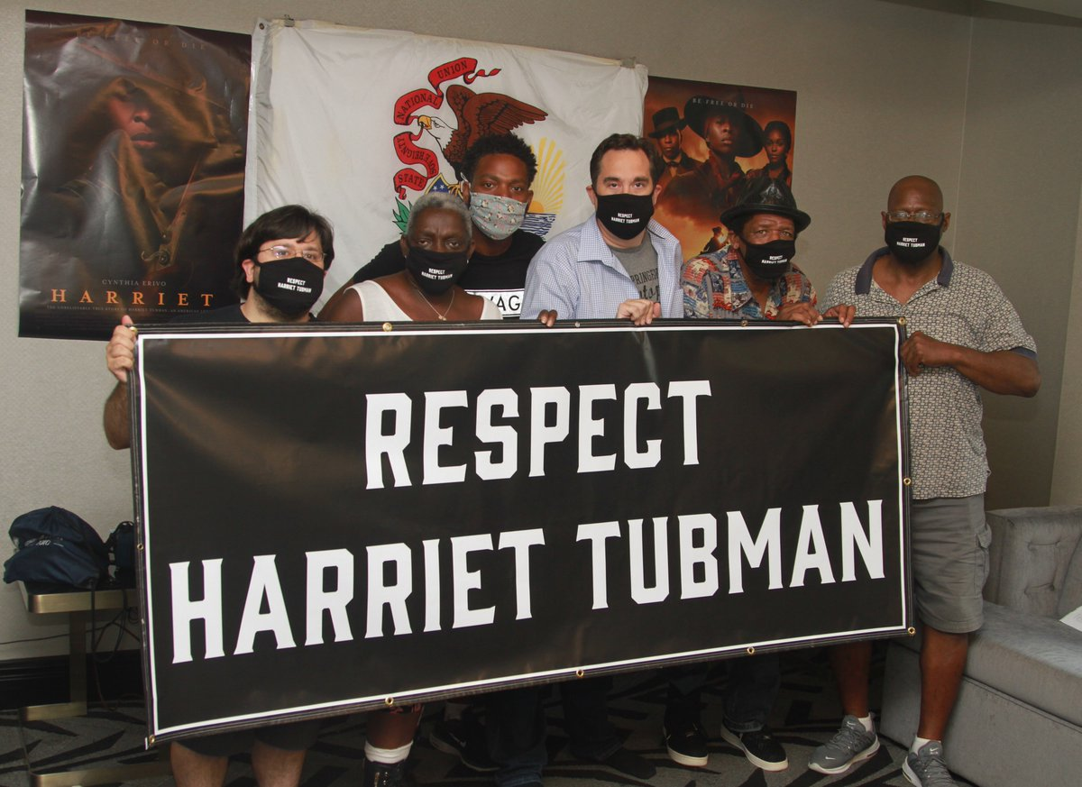 Two of the objectors in Illinois, founded a non profit called the Abolition Institute to combat modern slavery and were deeply offended by Kanyes remarks about Harriet Tubman. They sent out this picture today after the signatures were tossed. stoppingslavery.org