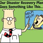 Image for the Tweet beginning: Reactive #CyberSecurity  💎 Disaster Recovery